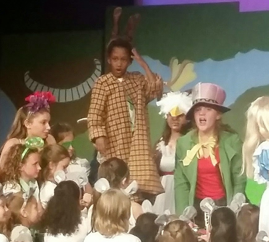 Caleb Thompson as the March Hare